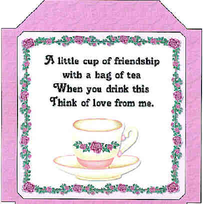 Tea Bag Template