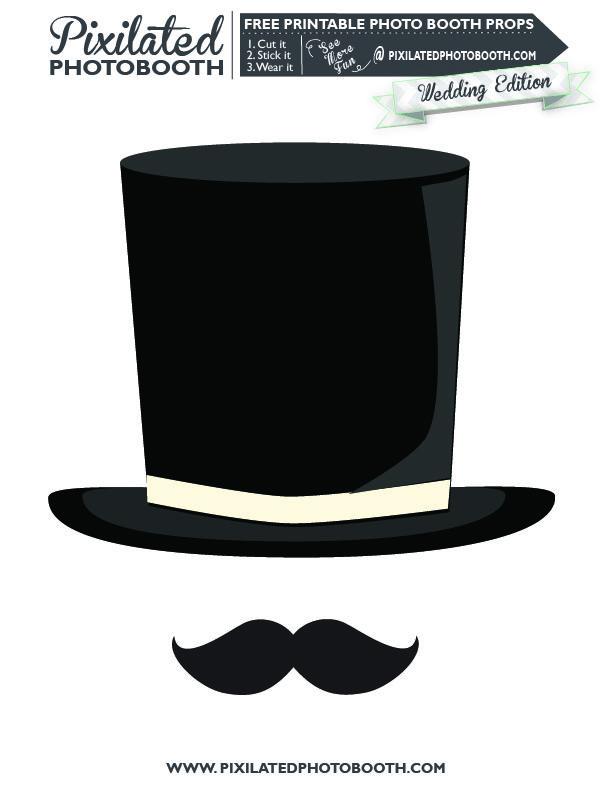 Best Images of Hat Props Templates Printables - Santa Hat Prop ...