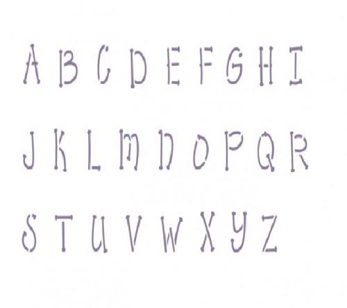 Upper Lower Case Letters Printable
