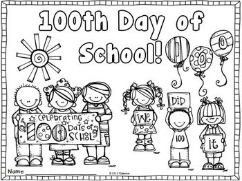 5 best images of 100 day celebration coloring printables for 100th day of school crown template