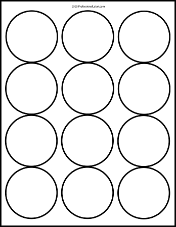8 Images of 2.5 Inch Circle Template Printable