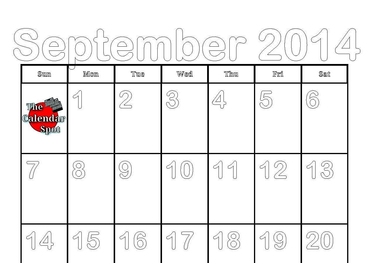 Calendar Spot May : Best images of spot by the month september calendar