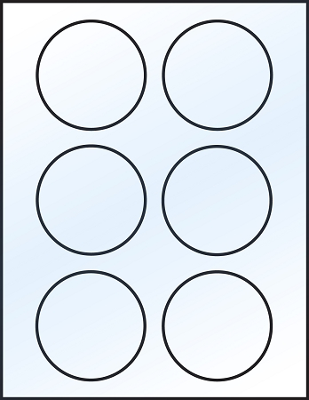 Transformative image pertaining to printable circle stickers