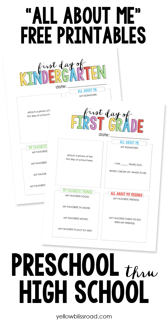 7 Images of All Free Printables