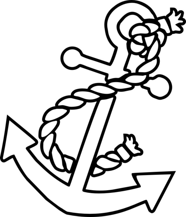 Anchor Coloring Pages Printable Free