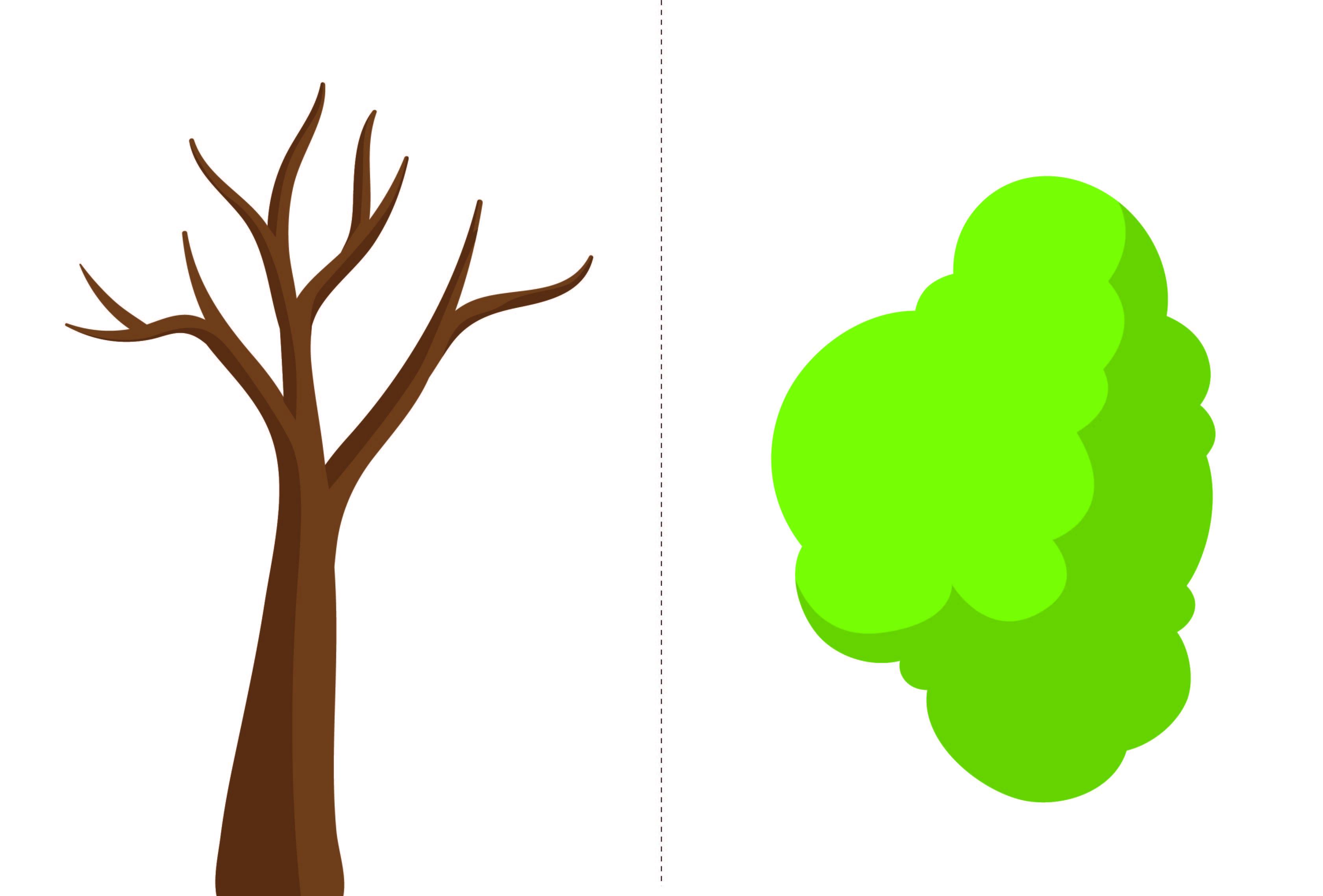 Apple Tree Template Printable