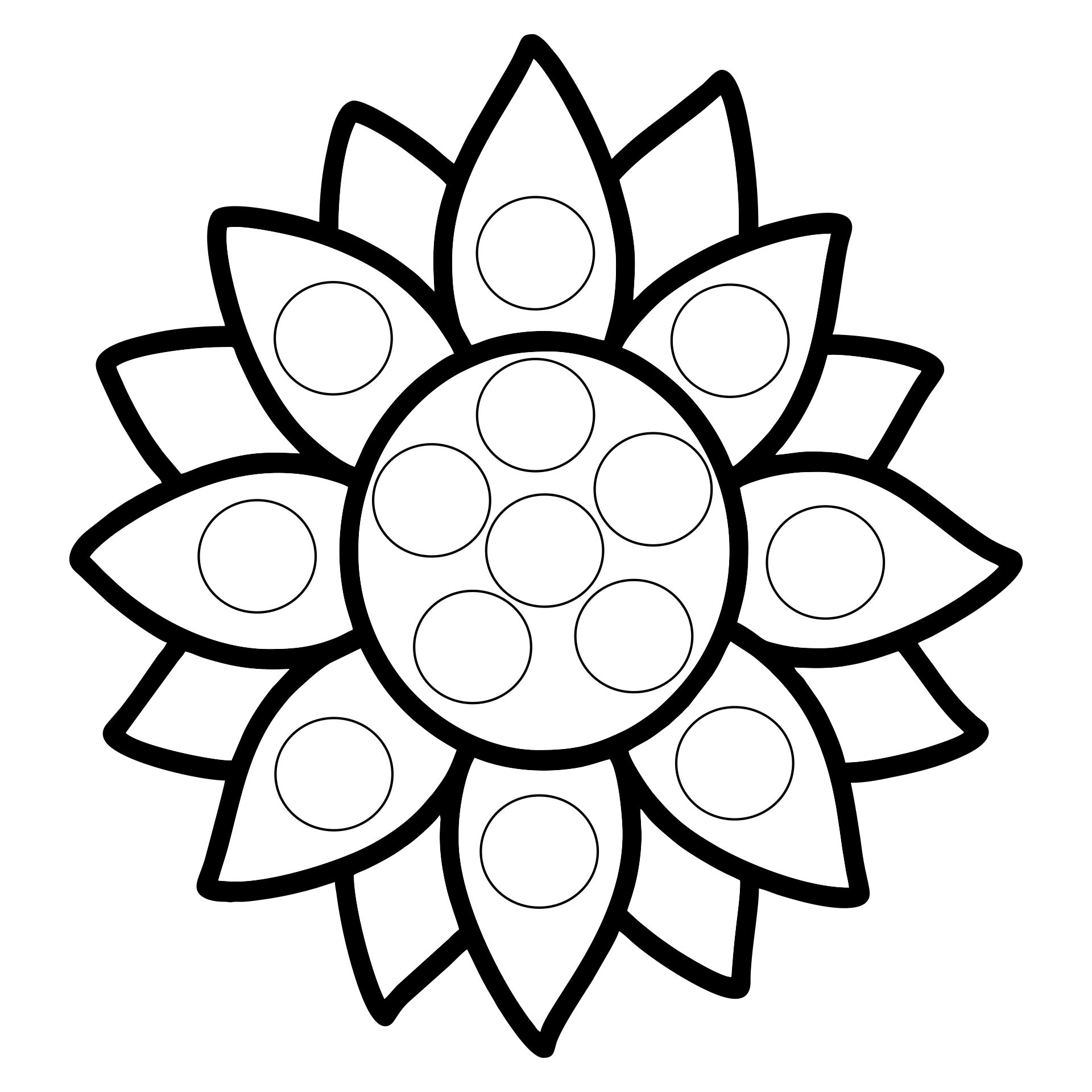 Bingo Dot Marker Coloring Pages