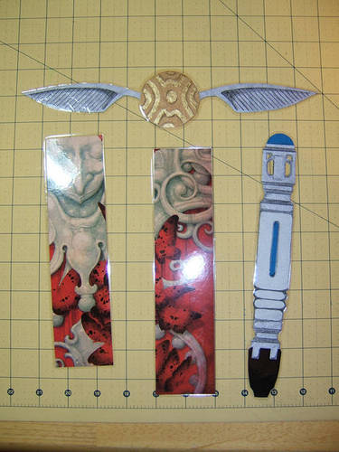 5 Images of Sonic Screwdriver Printable Bookmarks