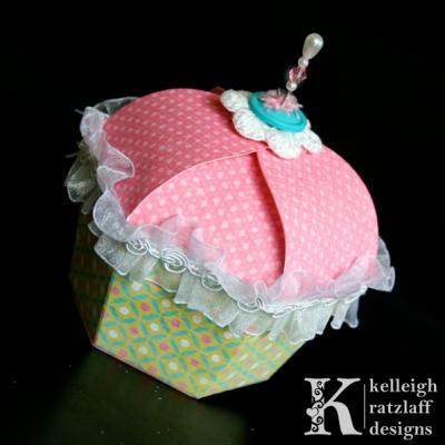 Cupcake Gift Box Template