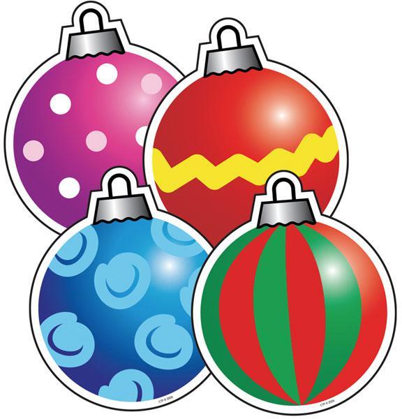 Christmas Cutout Decorations: Christmas Ornaments Cutouts