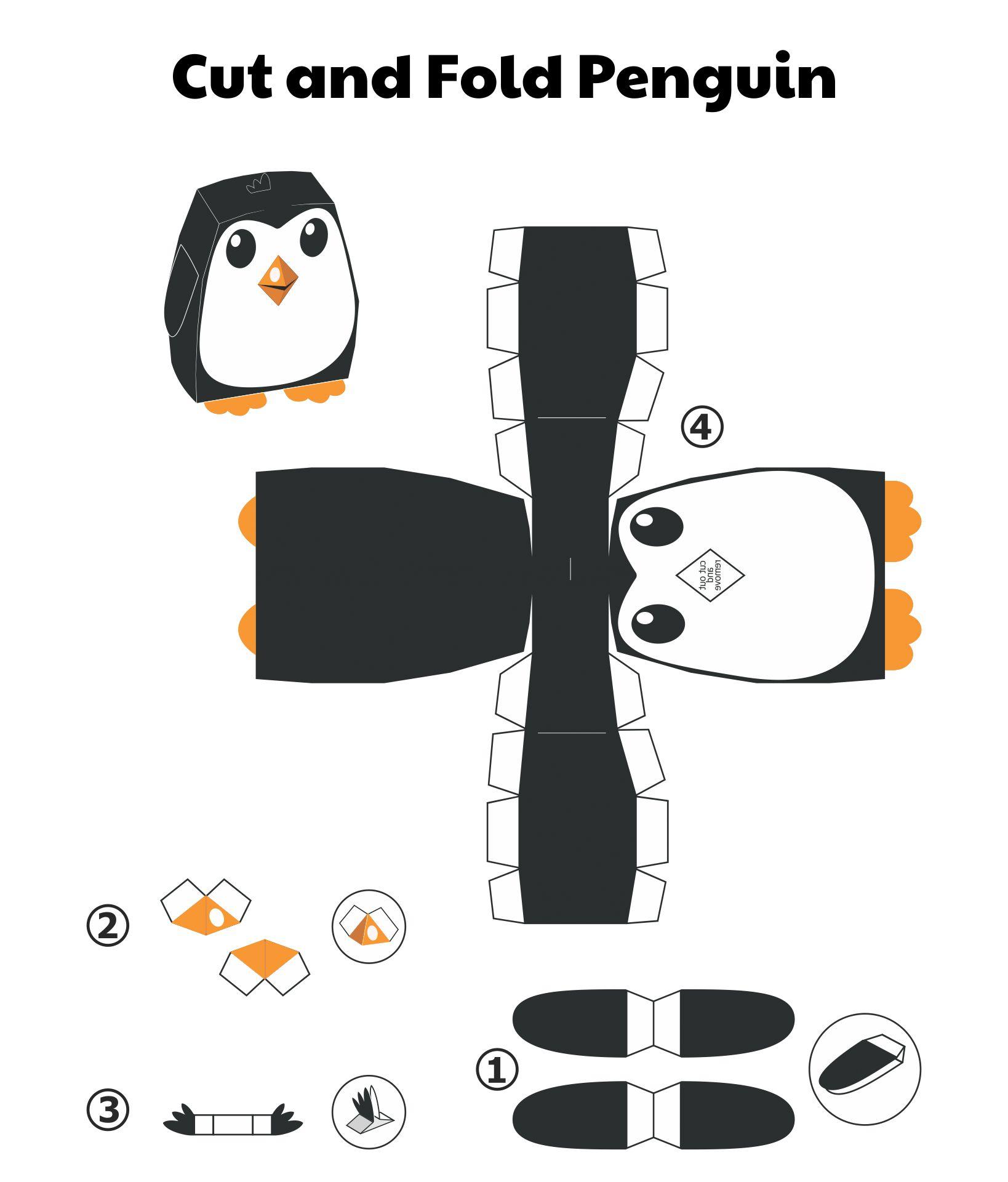 Cute Animal Paper Crafts