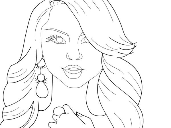 Free Printable Coloring Pages Disney Descendants : Best images of disney channel coloring pages printable