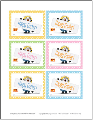 4 Images of Despicable Me Minion Party Free Printables