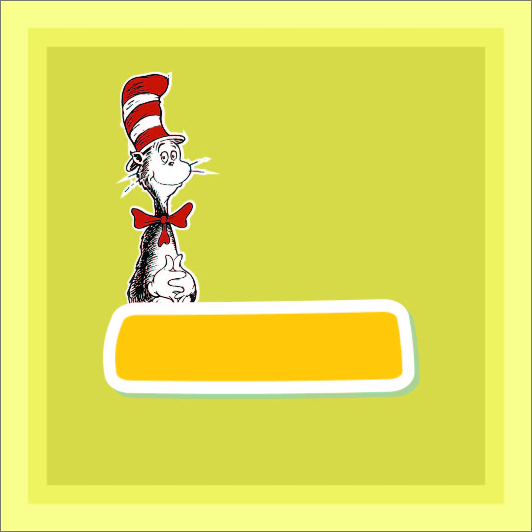 5 Images of Dr. Seuss Printable Border