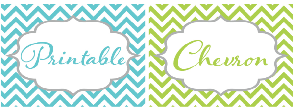 8 Images of Chevron Frame Free Printable
