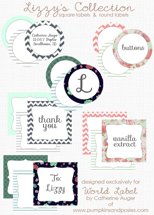 6 Images of Round Printable Labels For Favors