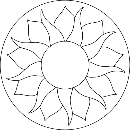 7 Images of Mosaic Patterns Printable