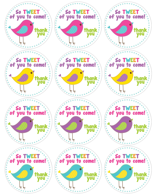 Free Printable Birthday Cupcake Topper Templates