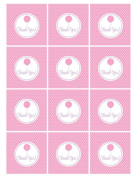 5 Images of Party Favor Tags Printable