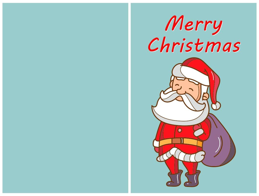 Printable Christmas Cards Online
