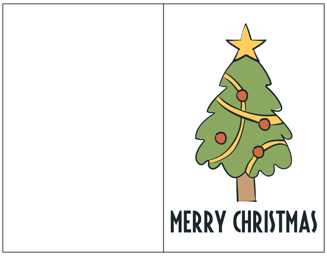 6 Images of Christmas Card Printable Design