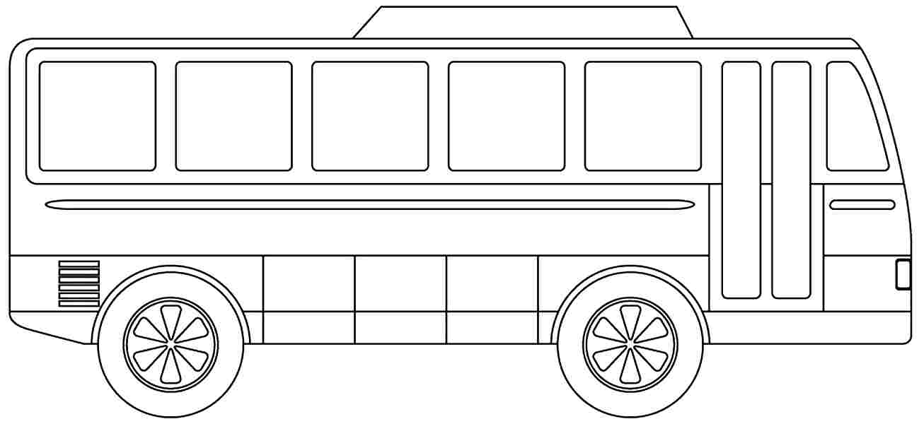 coloring pages bus - photo#21