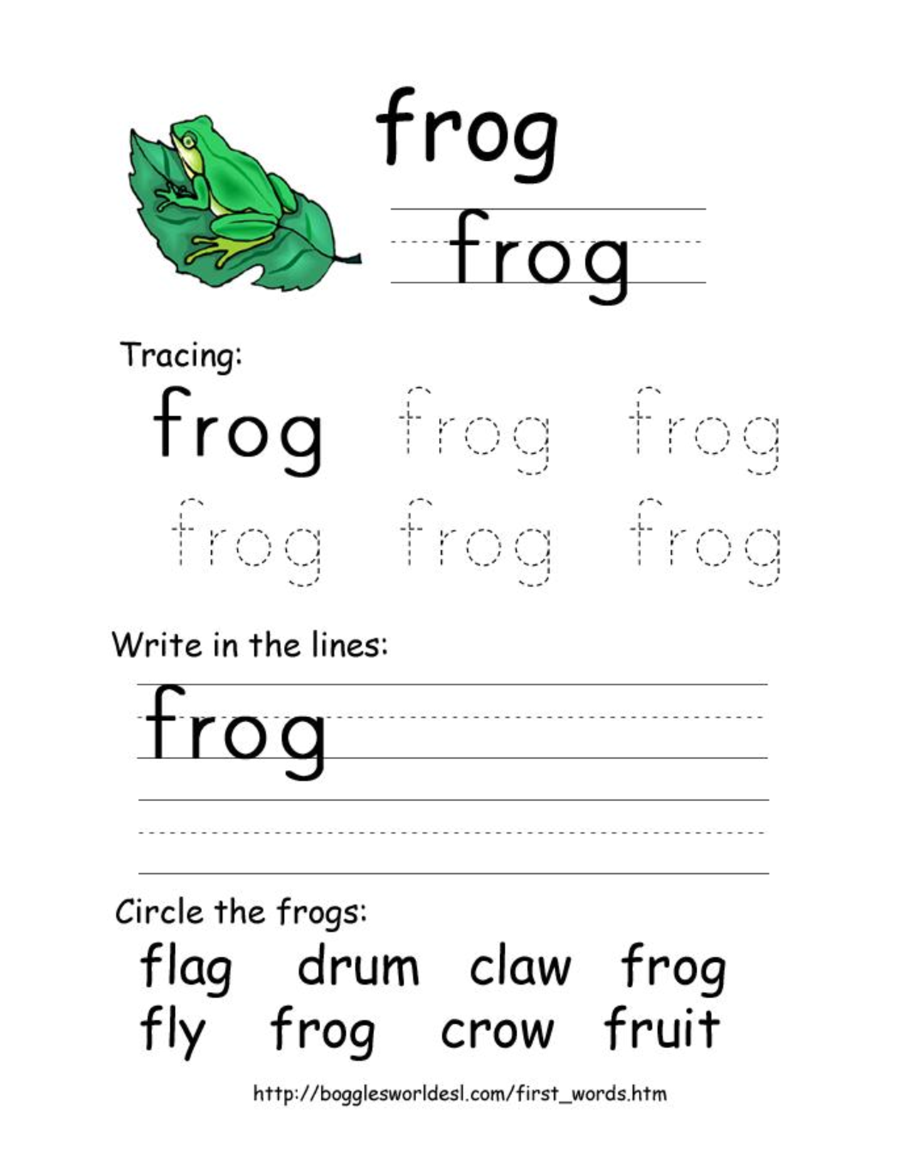 Consonant Blends Worksheets Kindergarten - K5 Learning Worksheets