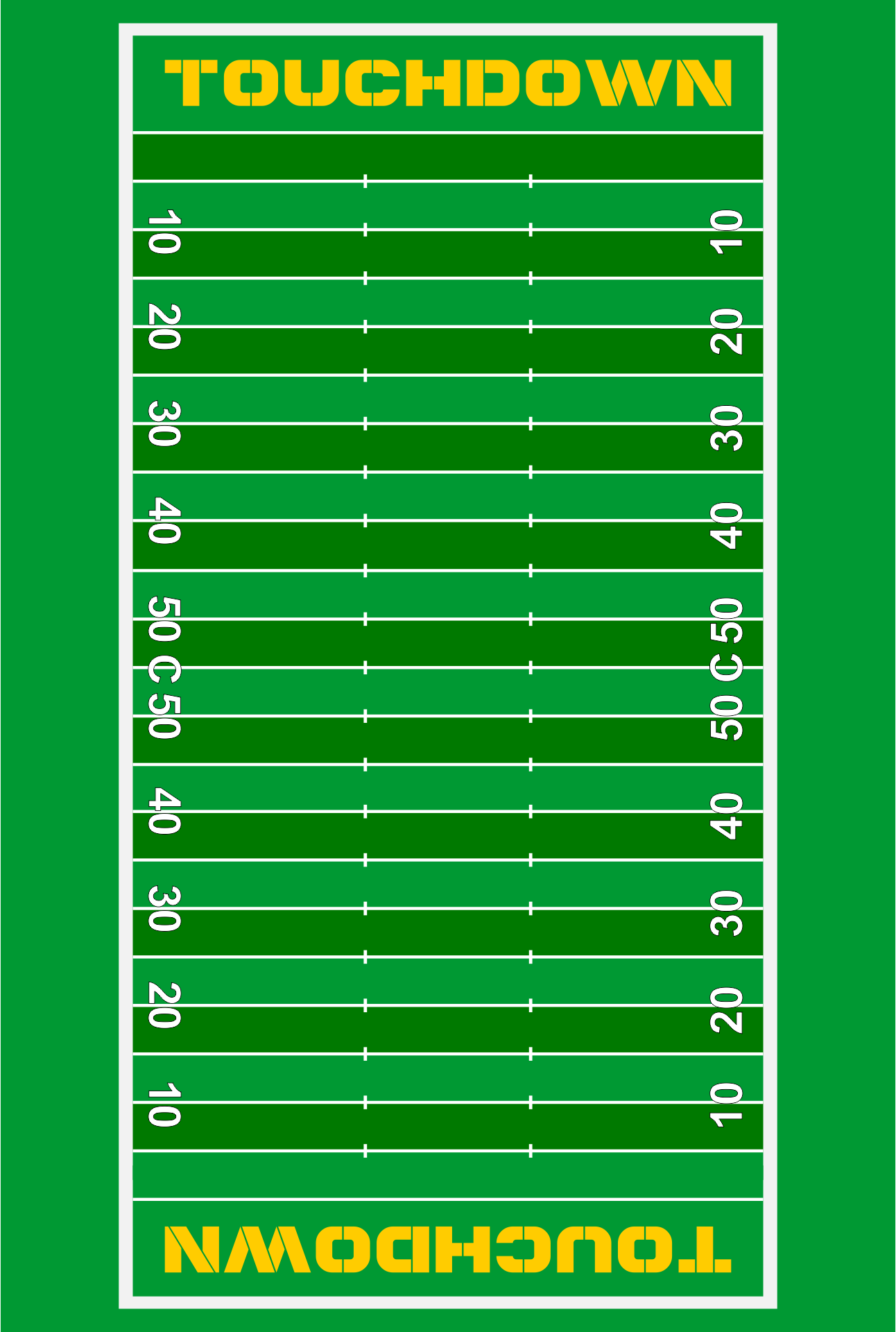best images of free printable football field   football field    free printable football field diagram