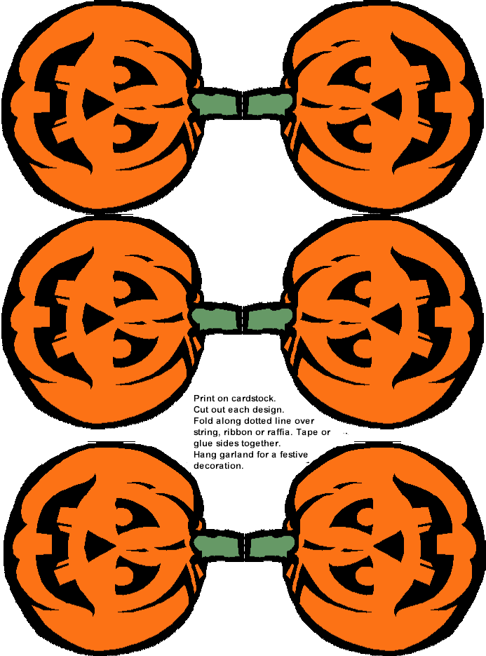Printable Halloween Pumpkin Decoration And Free Name