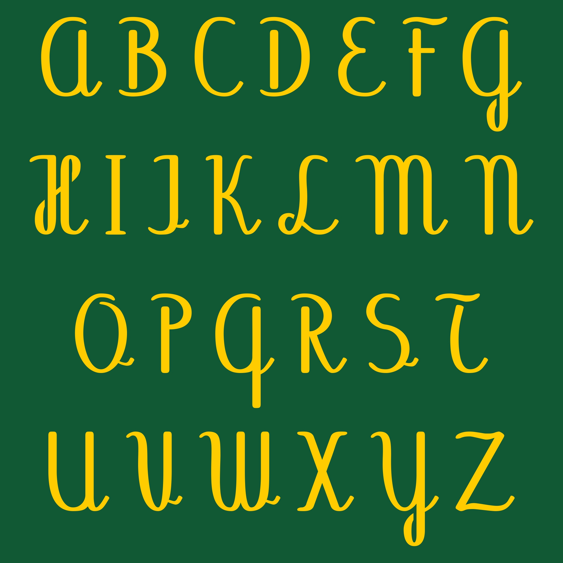 9 Images of Fonts Alphabet Free Printable