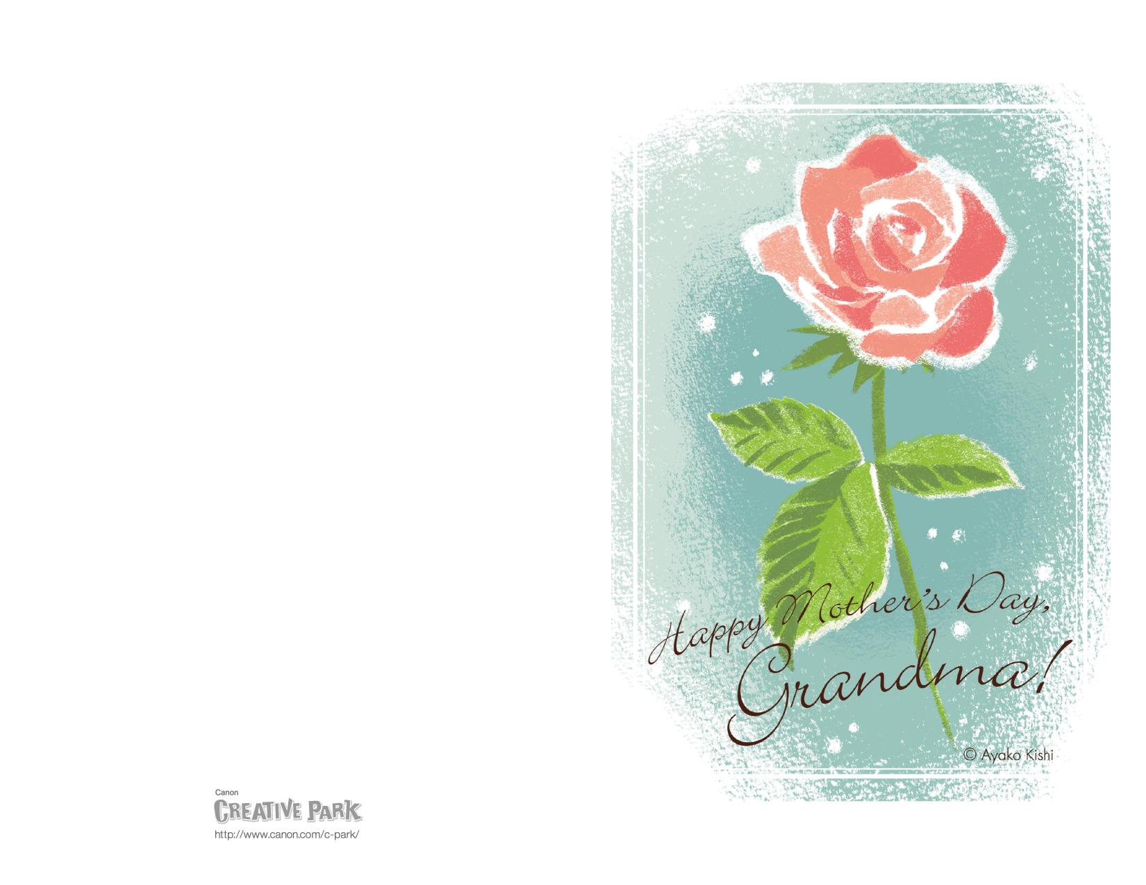 template free printable birthday cards for and grandma as