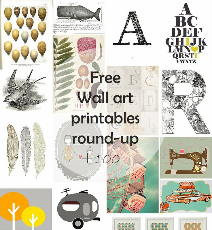6 Best Images Of Diy Gallery Wall Art Printables Free
