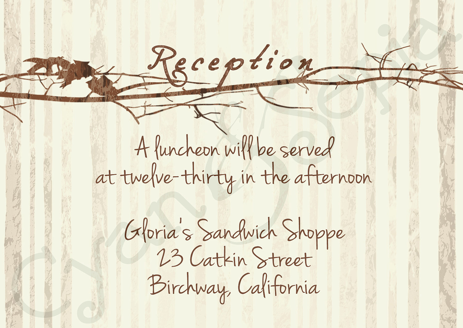 7 Images of Free Printable Reception Invitations