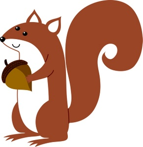 5 Images of Squirrel Clip Art Printables