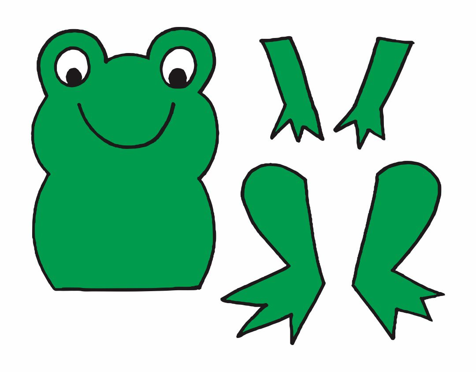 Frog Preschool Craft Activities