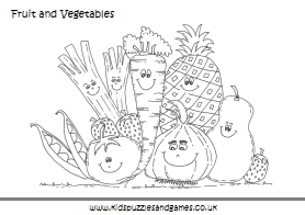 4 Images of Vegetable Mazes Printable