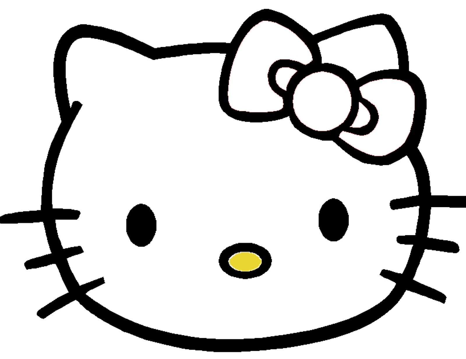 4 Images of Hello Kitty Printables