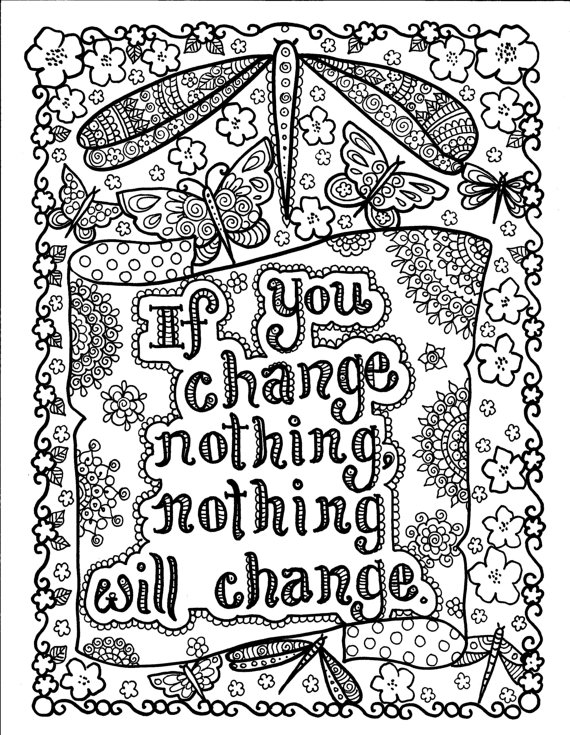 10 best images of free motivational coloring pages for Inspirational adult coloring pages