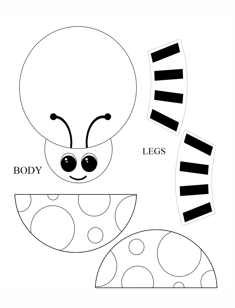 Kids Printable Craft Templates