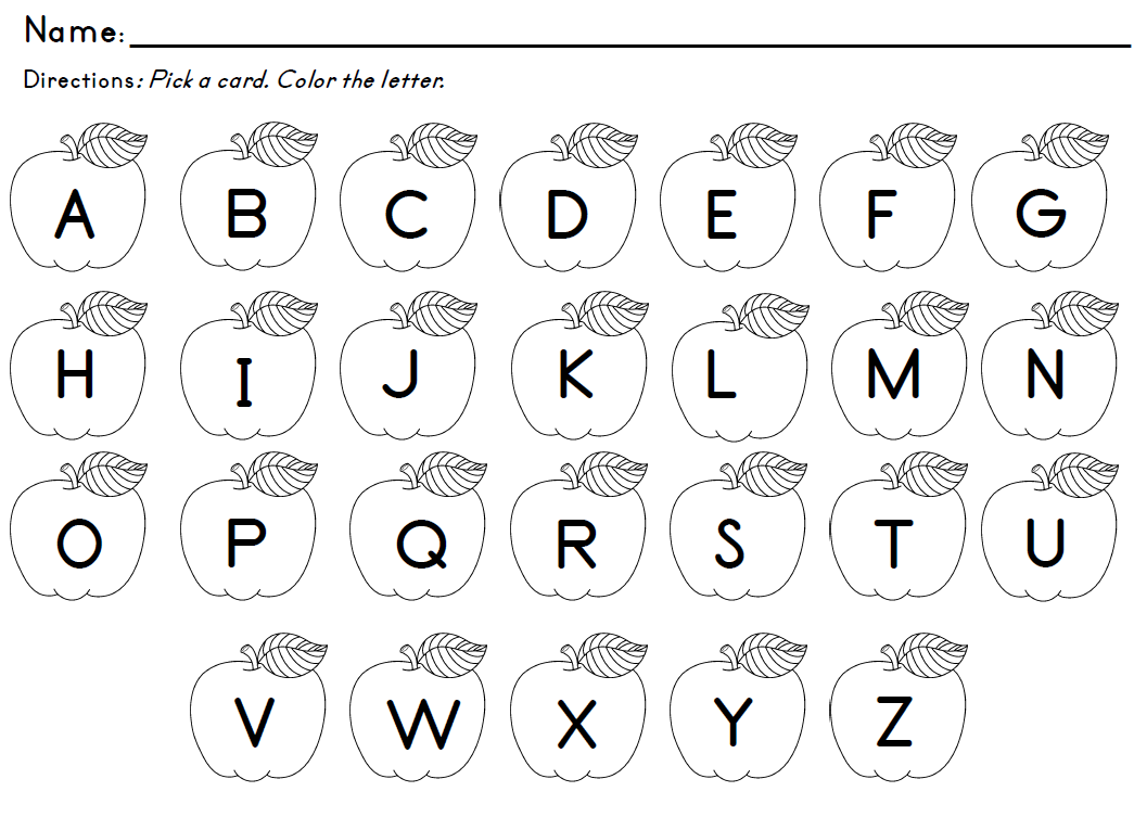 math worksheet : kindergarten worksheets alphabet recognition  sheets : Letters For Kindergarten Worksheets