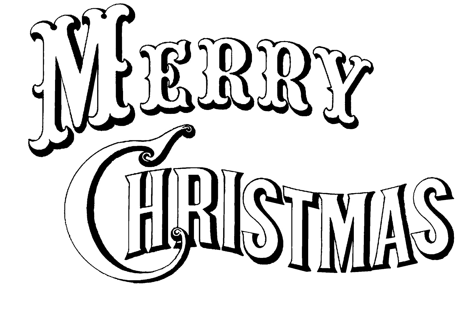 5 Images of Merry Christmas Clip Art Free Printable