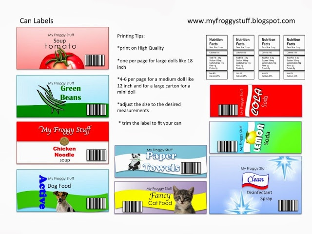 5 Best Images Of Can My Froggy Stuff Printables Chips My Froggy Stuff Printables My Froggy Stuff Printables Labels And My Froggy Stuff Printables School Printablee Com