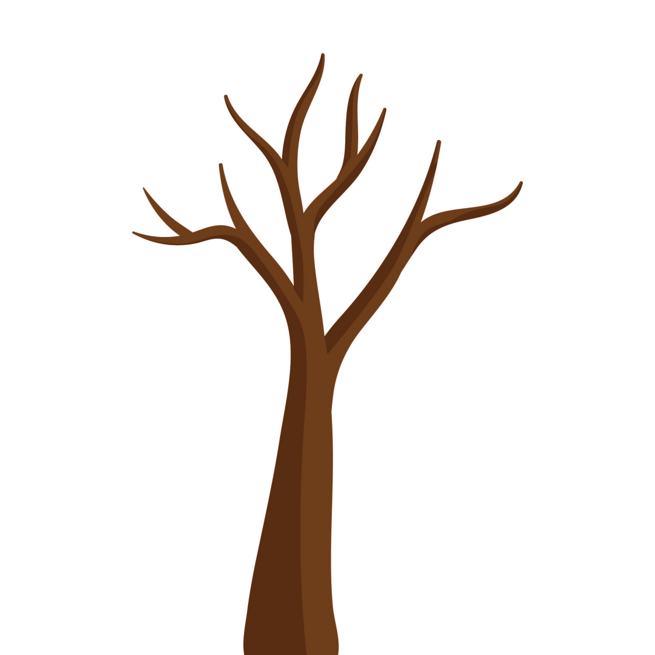 Paper Crafts Tree Template