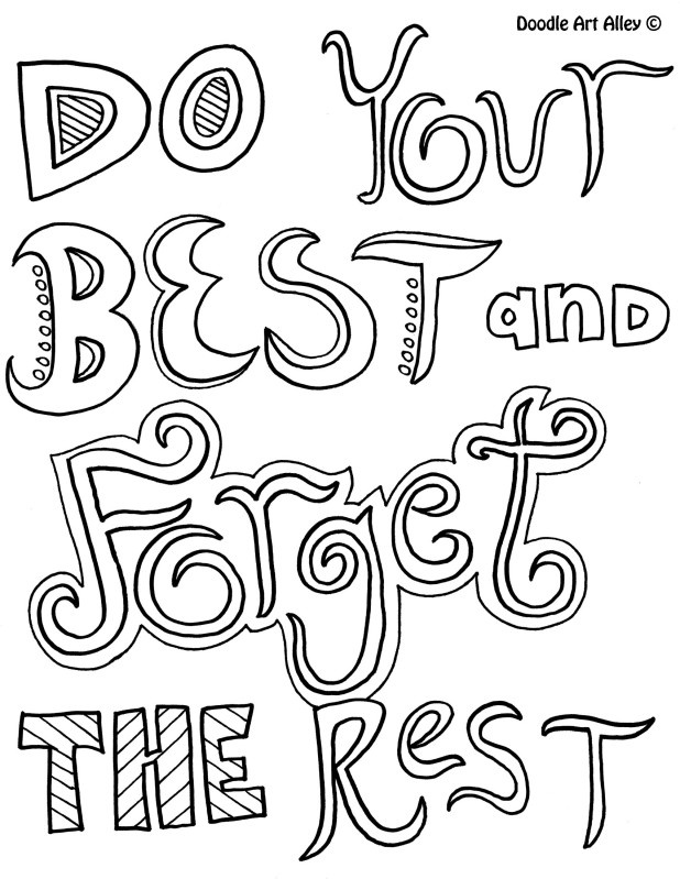10 Images of Free Motivational Coloring Pages Printable