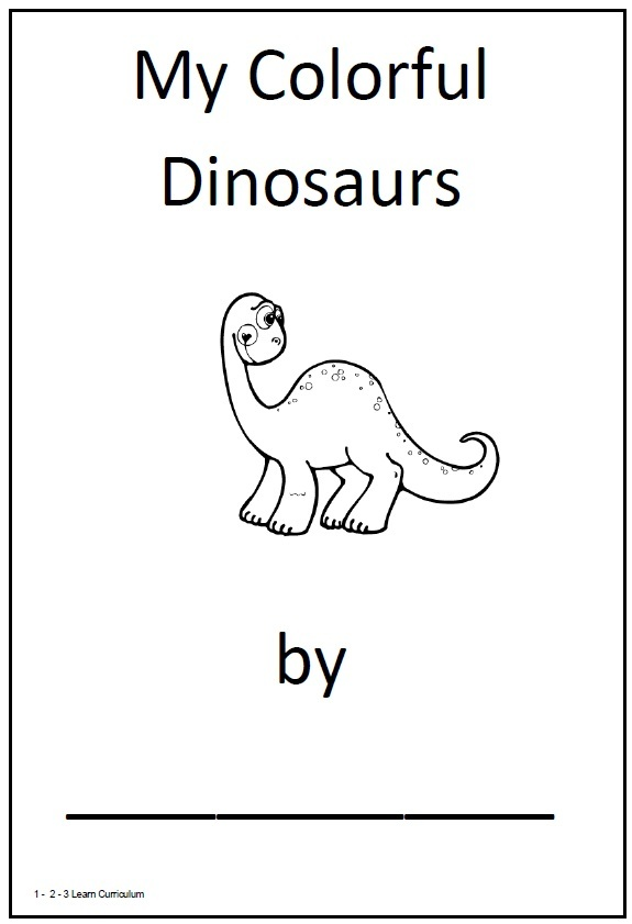 7 Images of Pre-K Dinosaur Theme Printables