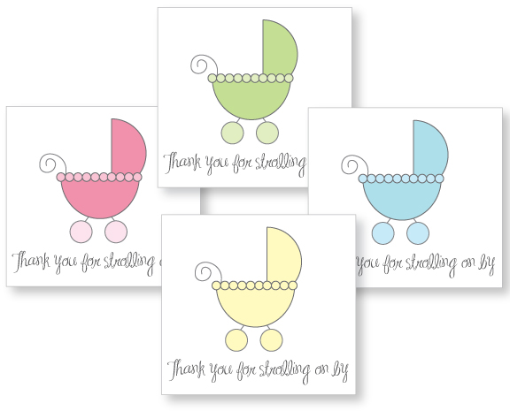 10 Images of Stroller Baby Shower Favor Tags Printable Template