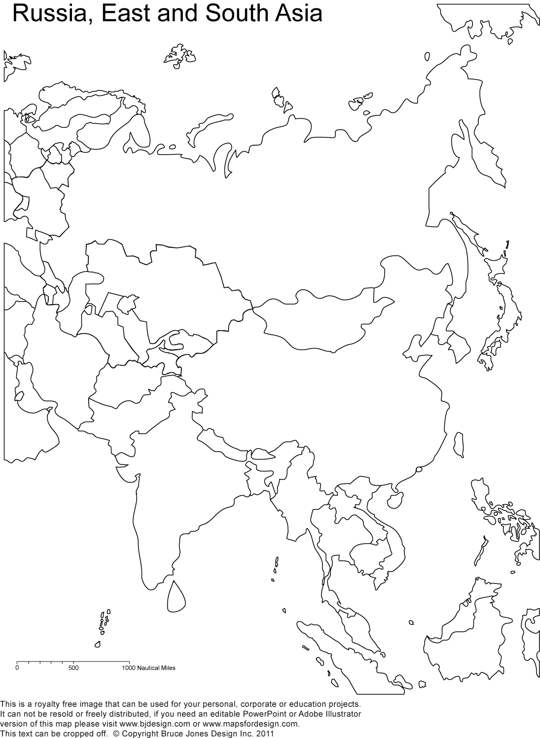 8 Images of Printable Blank Map Of Asia