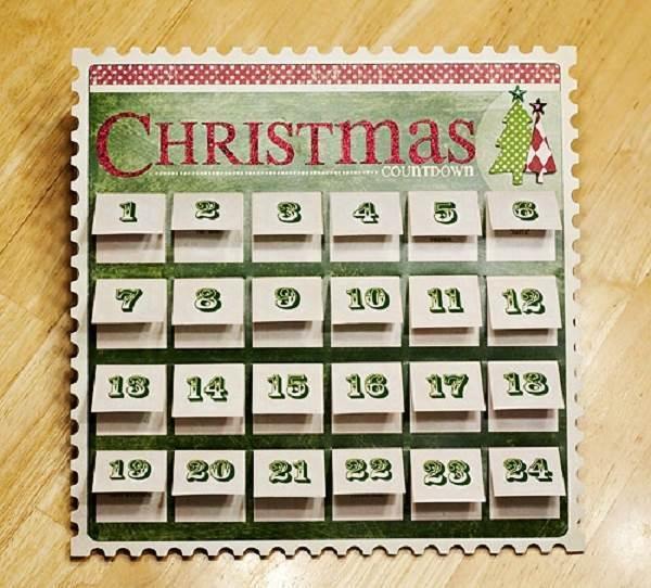 5 Images of Free Printable Christmas Countdown Calendar