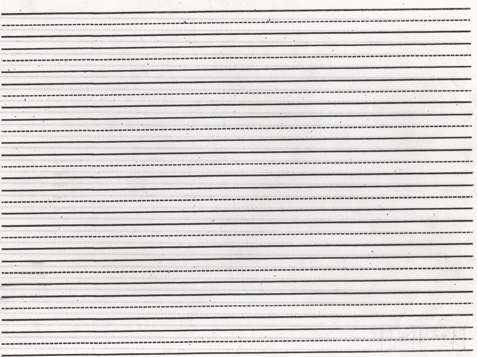 Landscape lined paper print – Ruled Paper Printable