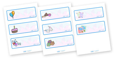 Printable Drawer Label Template